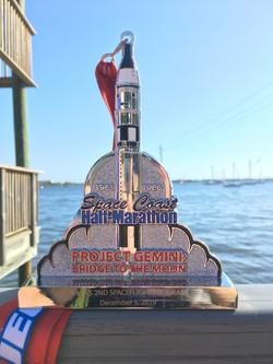Space Coast Marathon Medal