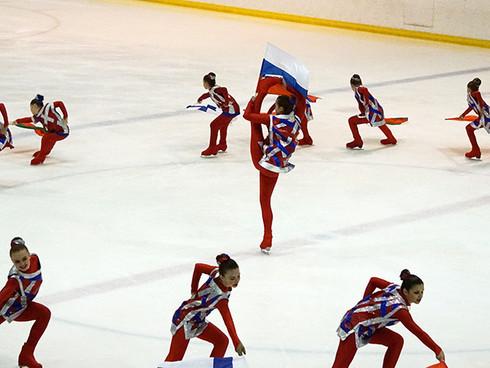 Осенний фестиваль танцев на льду