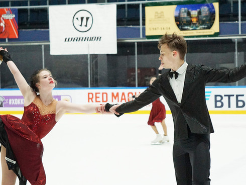 Гран-При II всероссийского фестиваля Петровский лед