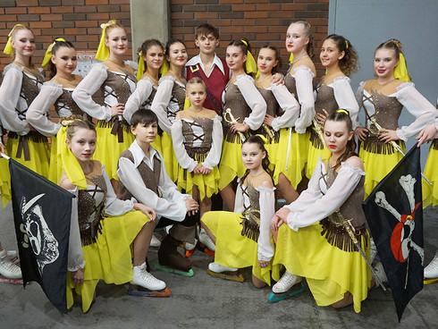 Городские соревнования танцевальных коллективов