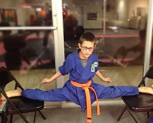 Karate split