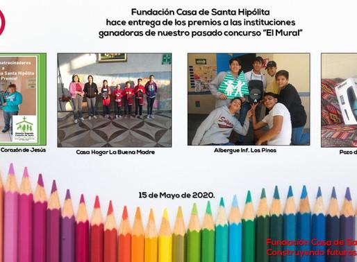 Ganadores del Concurso el Mural para Instituciones de la Red de Sta Hipolita