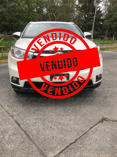 Toyota Highlander Limited, Blindado (2015)