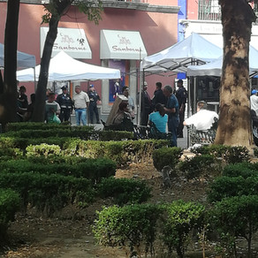 -US- Ambulantes/Artesanos toman Jardín Centenario. (Ahora reubicados en calle Cuauhtémoc)