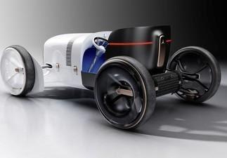 Mercedes- Benz mezcla el pasado con el futuro.