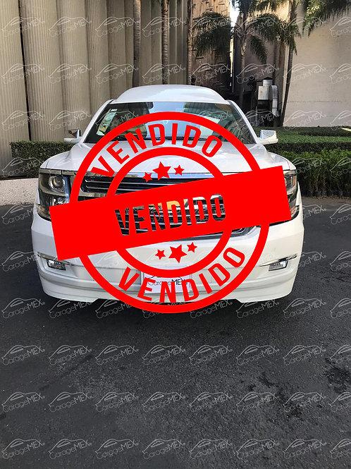 Chevrolet Suburban Presidente Blindada Nivel 5 (2017)