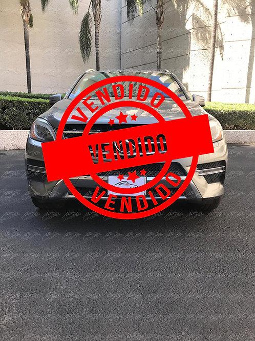 Mercedes Benz ML500 Blindada Nivel 3 (2013)