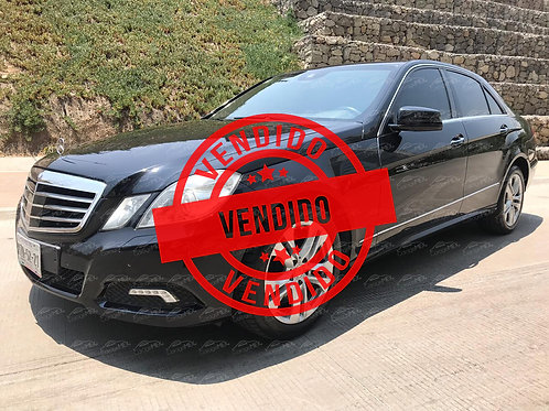 Mercedes Benz  E500, Blindado (2012)