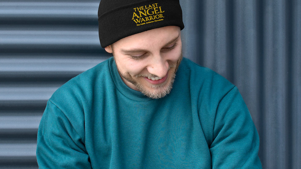 The Last Angel Warrior Embroidered Beanie