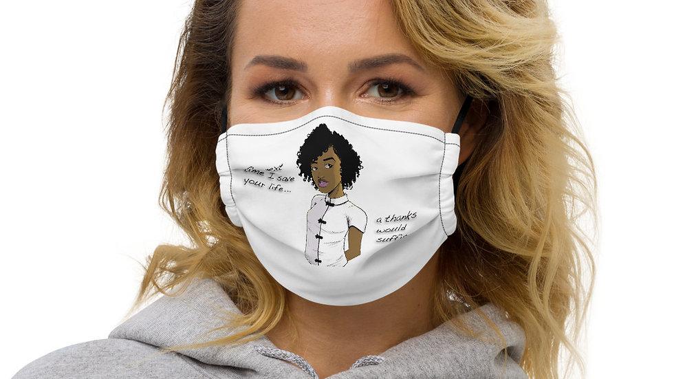 Thanks... Premium face mask