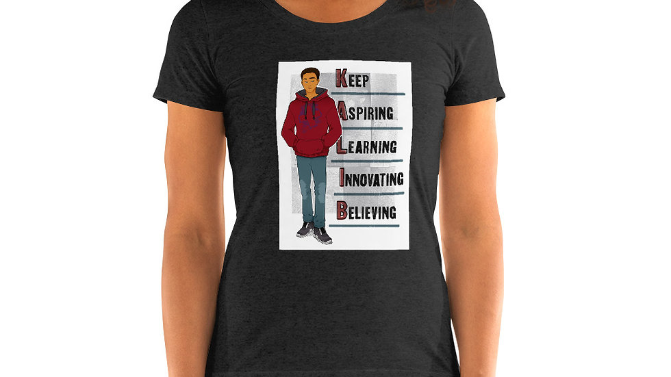 KALIB- Ladies' short sleeve t-shirt