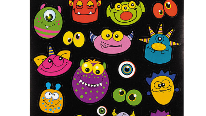 Monster Stickers (3pk)