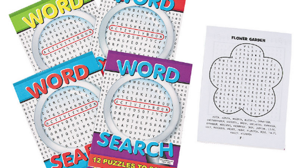 Word Search Activity Book