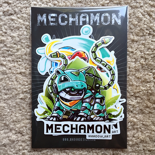 Mechamon Sticker Pack