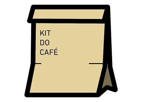 Um Kit Café dos Amigos