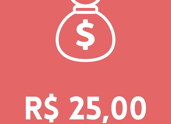 Doar 25 reais
