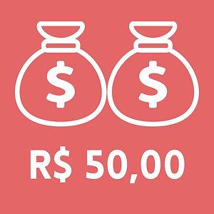 Doar 50 reais