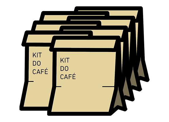 Sete Kits Café dos Amigos