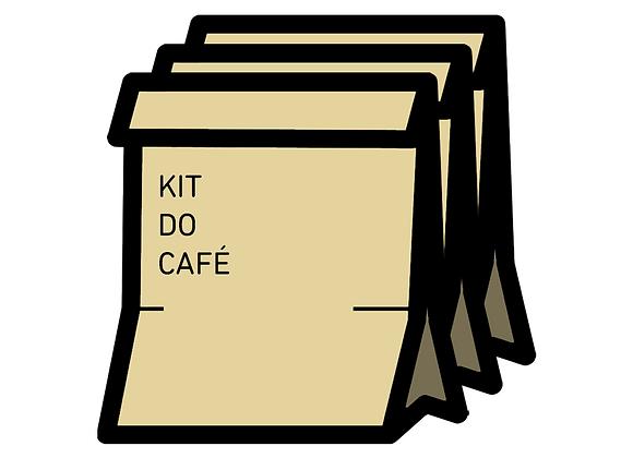 Três Kits Café dos Amigos
