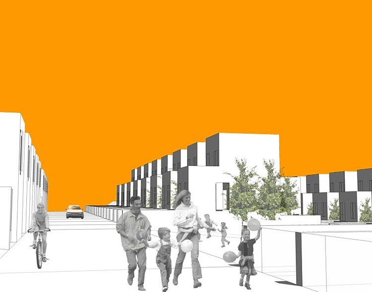 Estudio de arquitectura mart nezysoler en granada 68viv - Estudios arquitectura granada ...