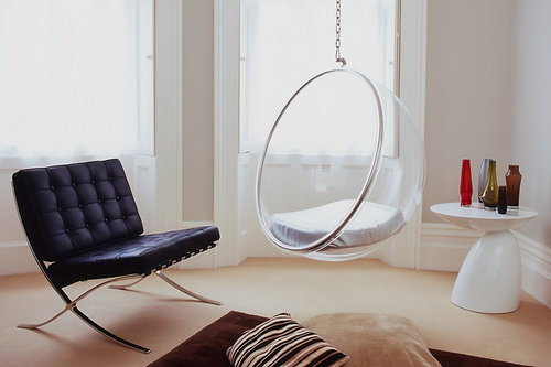 Bubble Hanging Chair (Stand Chair Available)