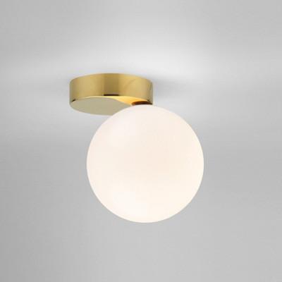 Simplify brass wallceiling light meraki decoration furniture material forsted glassgalvanized metal aloadofball Gallery