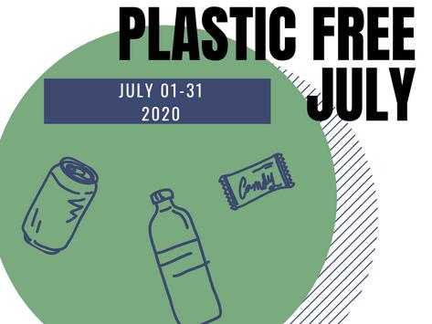 Take a plastic-free pledge this July