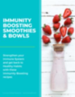 Copy of Immunity Boosting Smoothies & Bo