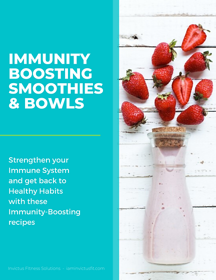 Copy of Immunity Boosting Smoothies & Bo