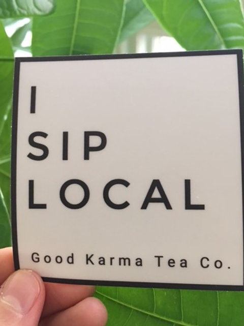 Sticker - I Sip Local