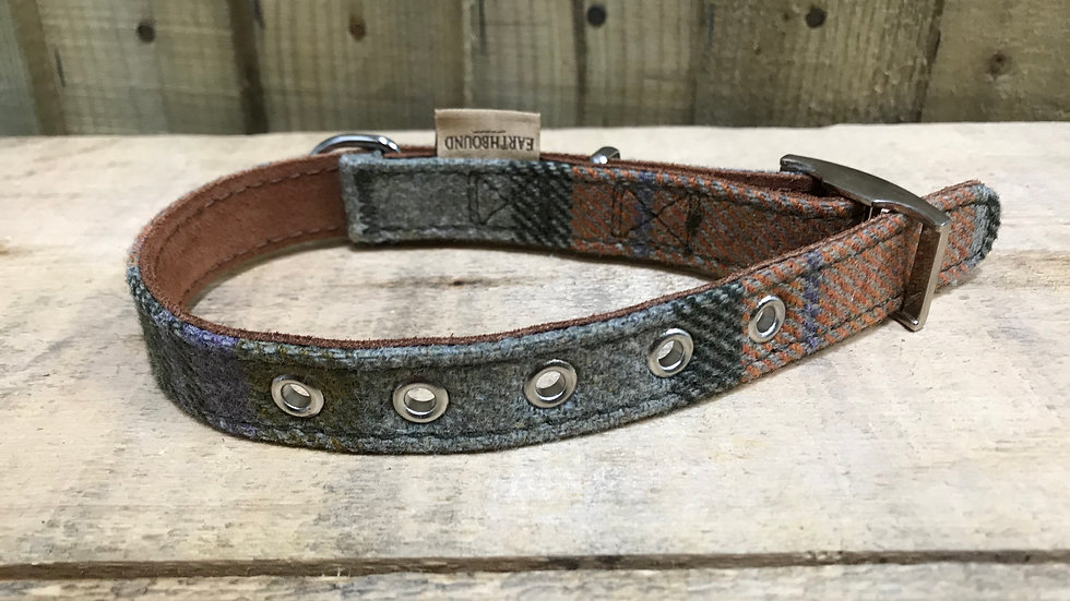 Earthbound Tweed Collar Small