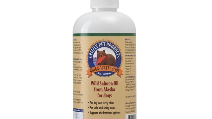 Grizzly Pet ProductsWild Salmon Oil