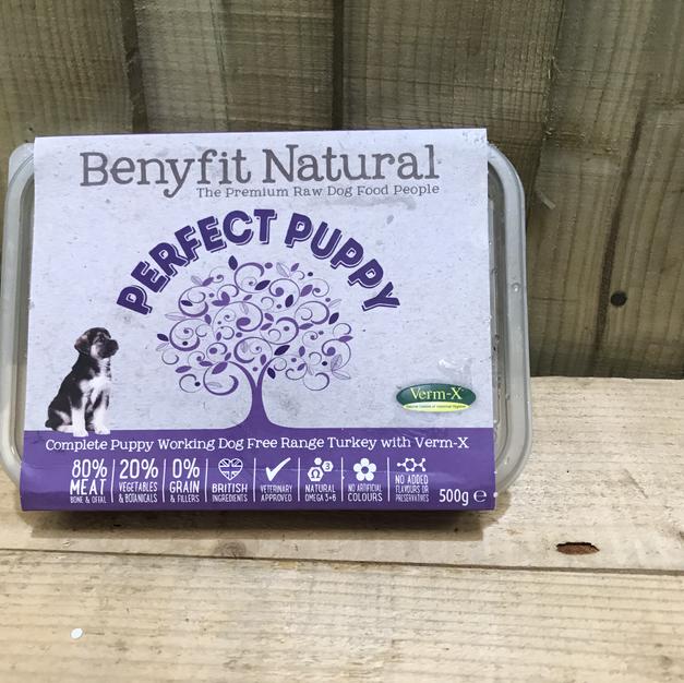 Benyfit Natural Perfect Puppy Turkey