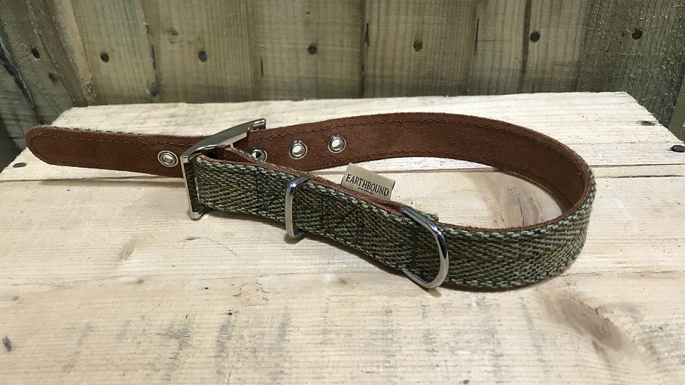 Earthbound Tweed Collar Large