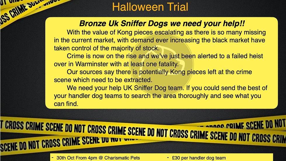 Halloween Bronze Trial