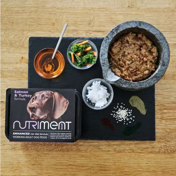 Nutriment Salmon & Turkey (Trays & Chubbs)