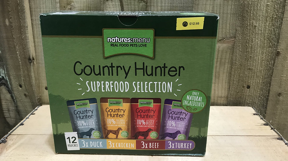 Natures Menu Country Hunter Superfoods
