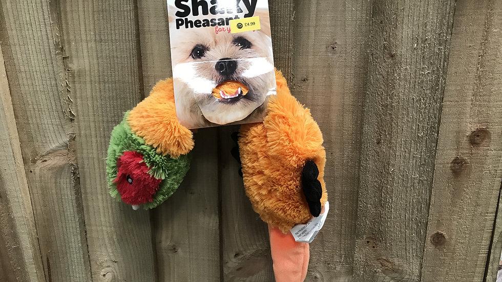 Shaky stuffing free plush squeaky toy