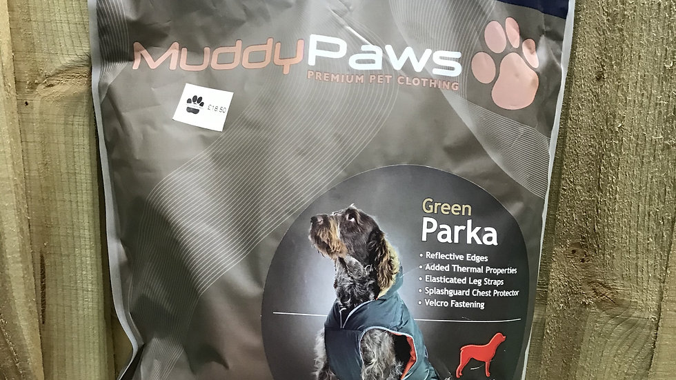 Ancol Muddy Paws Parka Coat