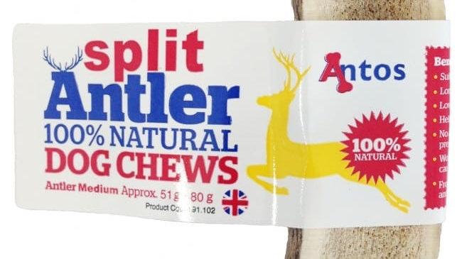 Split antler