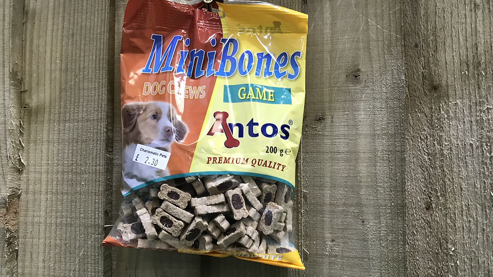 Antos mini bones training treats