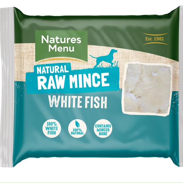 Natures menu White Fish Mince