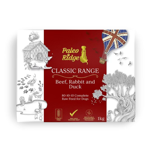 Paleo Ridge Beef Rabbit & Duck