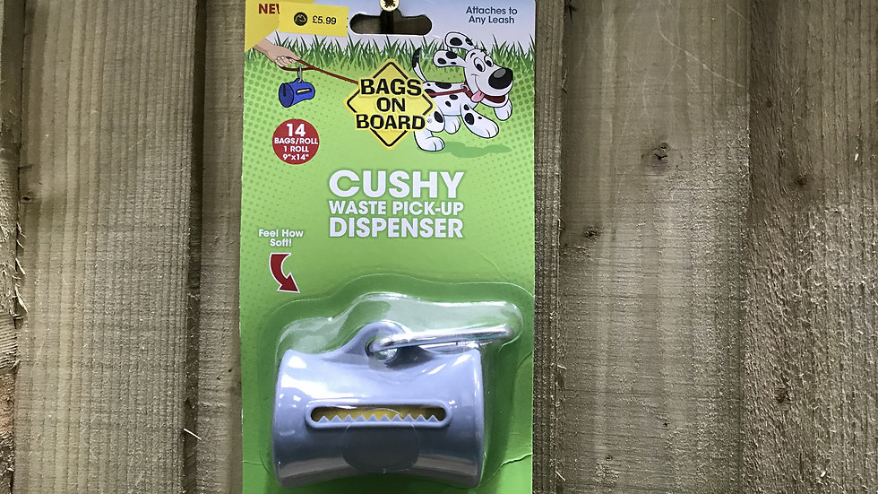 Bags on Board Cushy Waste Pick Up Dispenser