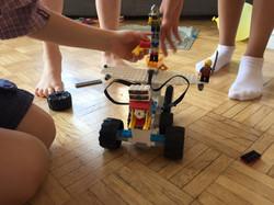 Robot de Maïa et son équipe, 7 ans