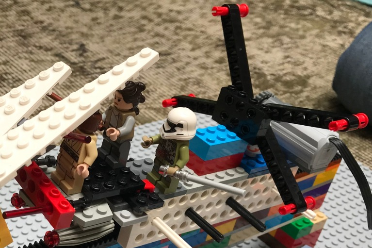Le X-Wing de Marin