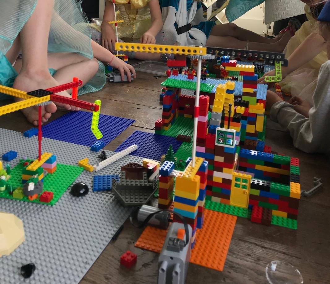 Maisons et manège de Gwenn, 6 ans