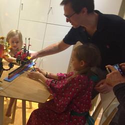 Atelier lego battle en famille