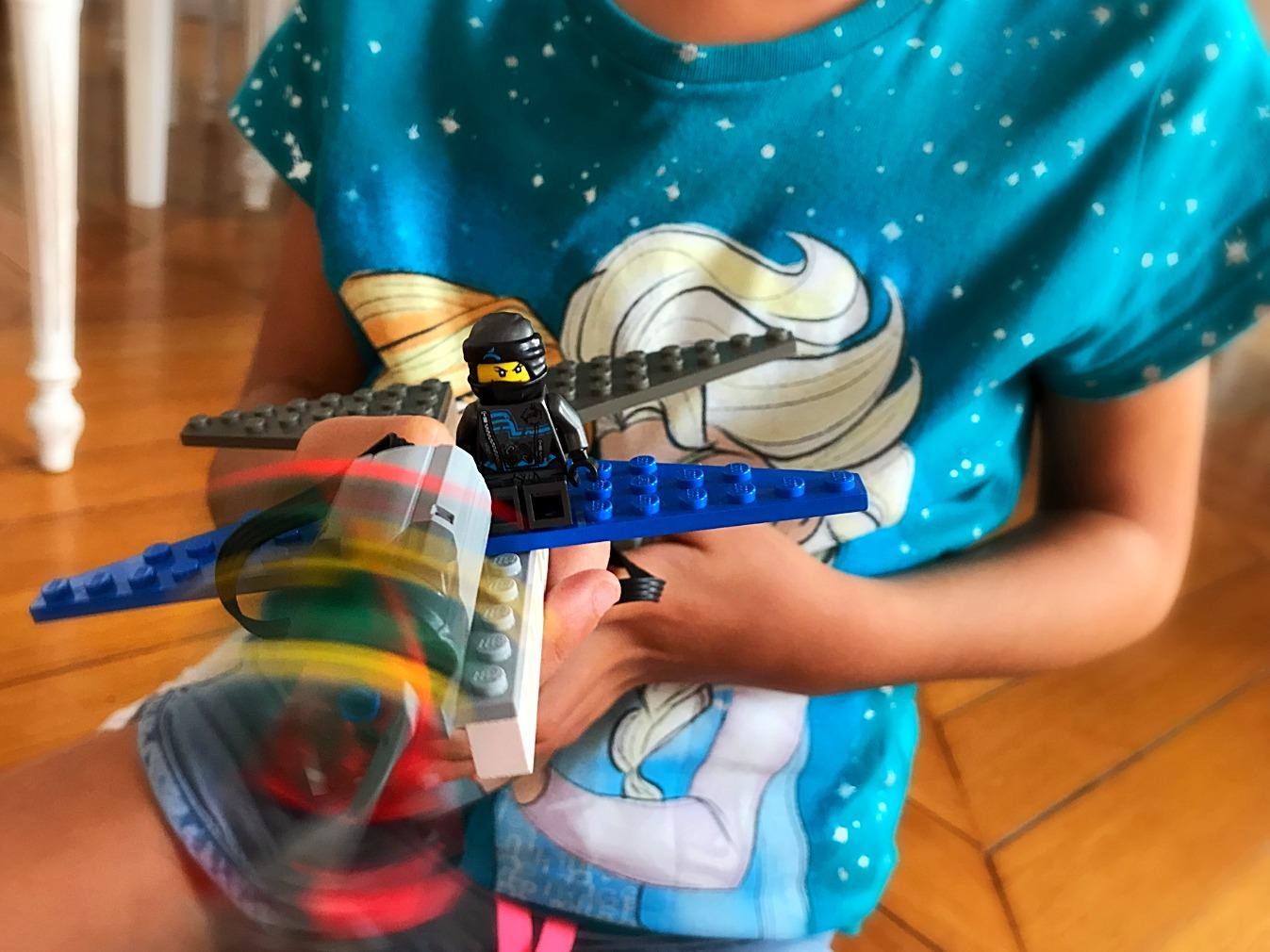 Ninja princesse, 6 ans