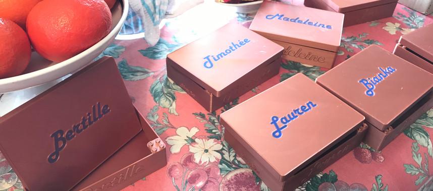 Boîtes pour anniversaire